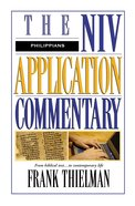 Philippians (Niv Application Commentary Series) Hardback