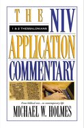1 & 2 Thessalonians (Niv Application Commentary Series) Hardback