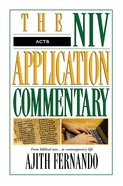 Acts (Niv Application Commentary Series) Hardback