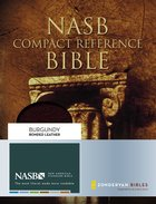 NASB Updated Compact Reference Burgundy (Red Letter Edition)