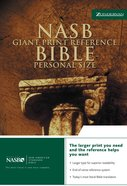 NASB Updated Giant Print Reference Black Personal Size