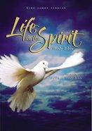 KJV Life in the Spirit Study Bible Burgundy Bonded Leather