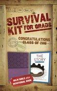 NKJV 2016 Survival Kit For Grads Purple Female (Red Letter Edition)