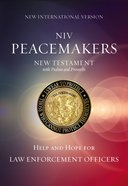 NIV Peacemakers New Testament With Psalms and Proverbs (Black Letter Edition)