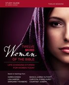 Twelve More Women of the Bible Study Guide Paperback