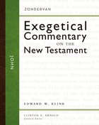 John (Zondervan Exegetical Commentary Series On The New Testament) Hardback