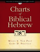 Charts of Biblical Hebrew (Incl Cd-rom) Paperback