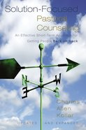 Solution-Focused Pastoral Counselling (And Expanded) Hardback