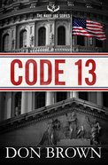 Code 13 (#02 in Navy Jag Series) Paperback