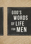 God's Words of Life For Men Paperback