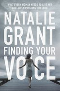 Finding Your Voice Paperback