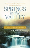 Springs in the Valley Paperback