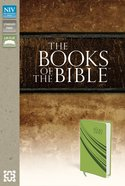 NIV Books of the Bible Green Imitation Leather