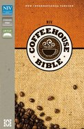NIV Coffee House Bible Espresso/Caramel (Red Letter Edition)