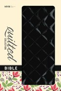 NIV Thinline Bible Quilted Blackberry (Red Letter Edition) Imitation Leather