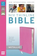 NIV Thinline Metallic Collection Bible (Red Letter Edition) Imitation Leather