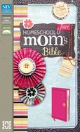 NIV Homeschool Mom's Bible Hot Pink Imitation Leather