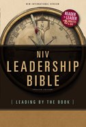 NIV Leadership Bible (Black Letter Edition) Hardback