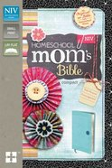 NIV Homeschool Mom's Compact Bible Italian Duo-Tone Turquoise Imitation Leather