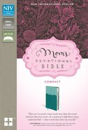 NIV Mom's Devotional Compact Bible Turquoise (Black Letter Edition)