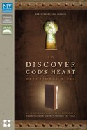 NIV Discover God's Heart Devotional Bible Italian Duo-Tone Chocolate/Caramel