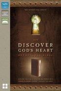 NIV Discover God's Heart Devotional Bible Italian Duo-Tone Chocolate/Caramel