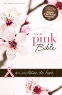 NIV Pink Bible Pink/Chocolate (Red Letter Edition) Imitation Leather