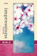 NIV Impressions Collection Bible Cherry Blossom (Red Letter Edition) (Limited Edition)