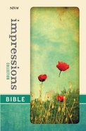 NIV Impressions Collection Bible Poppies (Red Letter Edition) (Limited Edition)