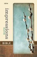 NIV Impresssions Collection Bible Gray Willow (Red Letter Edition) (Limited Edition) Hardback
