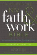 NIV Faith and Work Bible (Black Letter Edition) Hardback