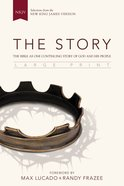 NKJV the Story Large Print: The Bible as One Continuing Story of God and His People (Black Letter Edition) Hardback