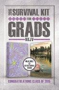 NKJV 2015 Survival Kit For Grads Purple Floral (Red Letter Edition)