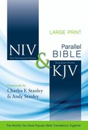 Niv/Kjv Side By Side Bible Large Print (Black Letter Edition) Hardback