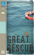 NIV the Great Rescue Sea Grass/Chocolate Imitation Leather