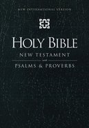 NIV New Testament With Psalms and Proverbs Black Imitation Leather