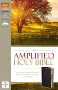 Amplified Holy Bible Indexed Black