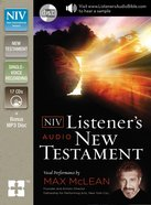 NIV Listener's Audio New Testament (Unabridged 18.30 Hrs) CD
