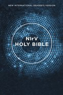 NIRV Outreach Bible Blue (Black Letter Edition) Paperback