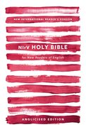 NIRV Holy Bible For New Readers of English Anglicised Edition Pink