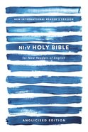 NIRV Holy Bible For New Readers of English Anglicised Edition Blue Paperback