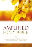 Amplified Outreach Bible Paperback