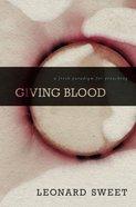 Giving Blood Hardback