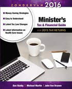 Zondervan 2016 Minister's Tax and Financial Guide: For 2015 Tax Returns Paperback