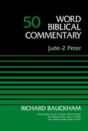 Wbc: Jude, 2 Peter Hardback