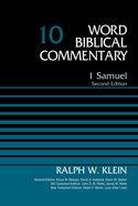 1 Samuel (Word Biblical Commentary Series) Hardback