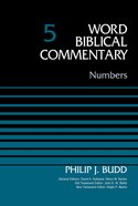 Numbers (Word Biblical Commentary Series) Hardback