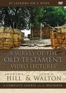 A Survey of the Old Testament Video Lectures (Zondervan Academic Course DVD Study Series) DVD