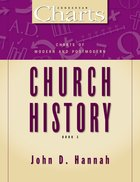 Zch #03: Charts of Modern and Postmodern Church History Paperback