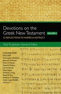 Devotions on the Greek New Testament, Volume Two eBook